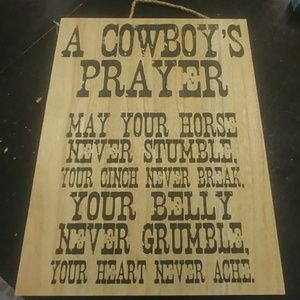 A Cowboys Prayer